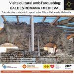 A la imatge, exterior de les termes romanes de Caldes de Malavella. Des de l'any 2015, després de les #excavacionsarqueologiques i de la restauració del monument, es poden visitar.