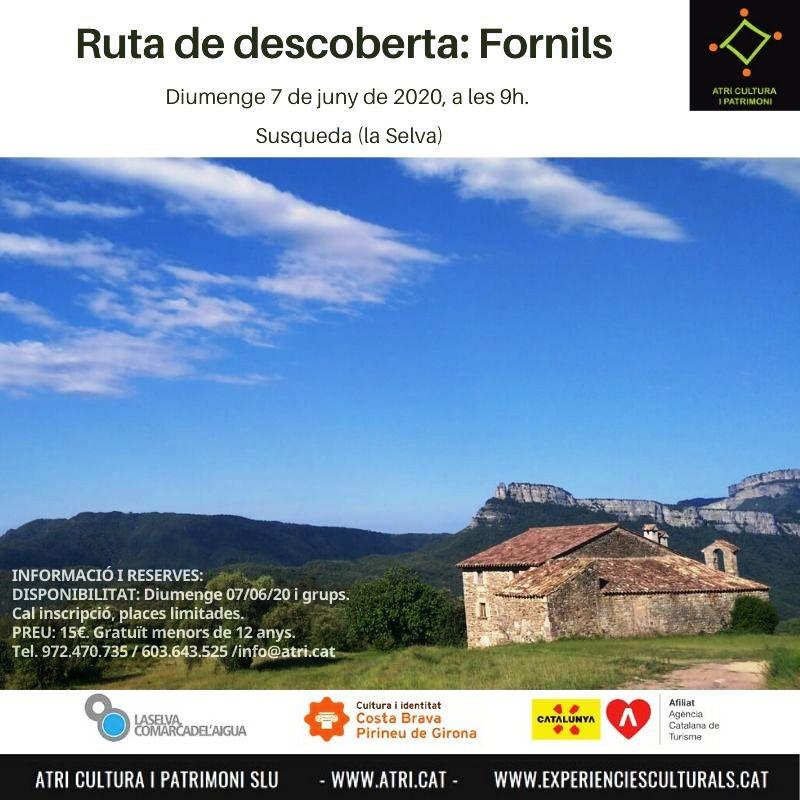 Ruta de descoberta: Fornils (Susqueda, la Selva, Girona)