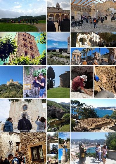 Recull d'imatges de visites i rutes culturals. Des d''Atri Cultura i Patrimoni fem itineraris i guiatges patrimonials des de l'any 2014.