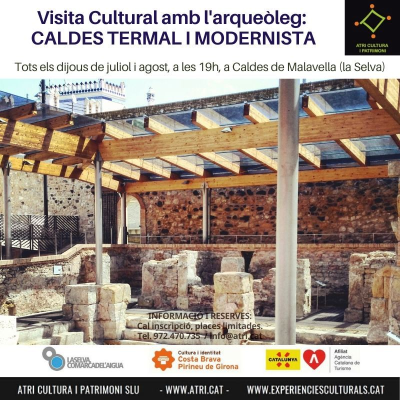2020_Visita_Caldes_termal_modernista_arqueoleg