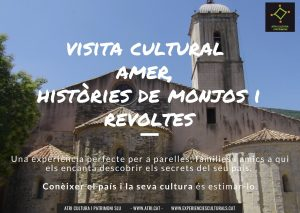 Visita Amer monestir història Catalunya