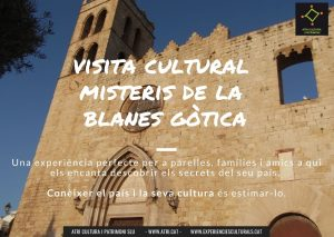 visita cultural Blanes vescomtat Cabrera