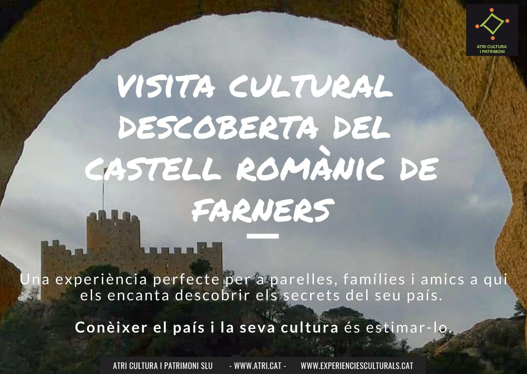 Visita castell romànic Farnes Guilleries