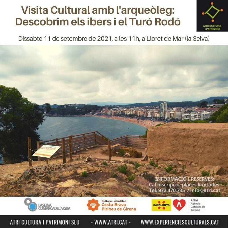 visita cultural ibers Lloret Costa Brava arqueoleg arqueologia